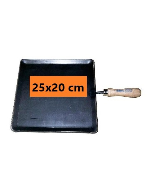 PLANCHA ASAR 25X20 CM C/MANGO
