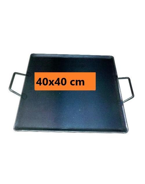 PLANCHA ASAR 40X40 C/ASAS