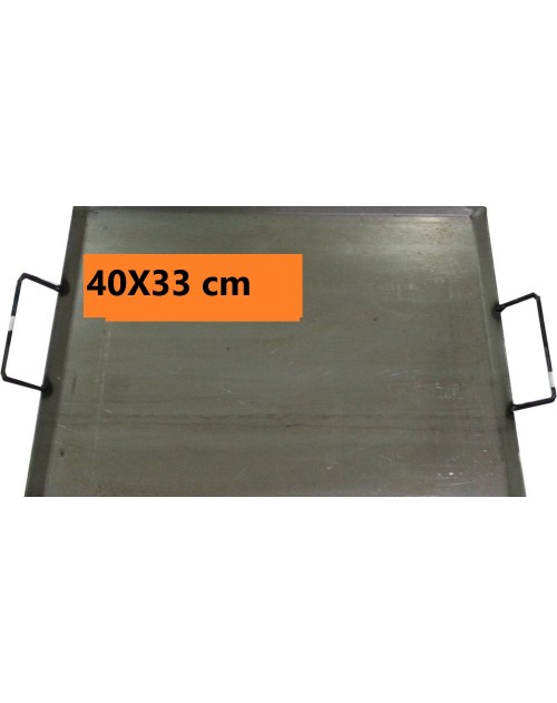 PLANCHA ASAR 40X33 C/ASAS