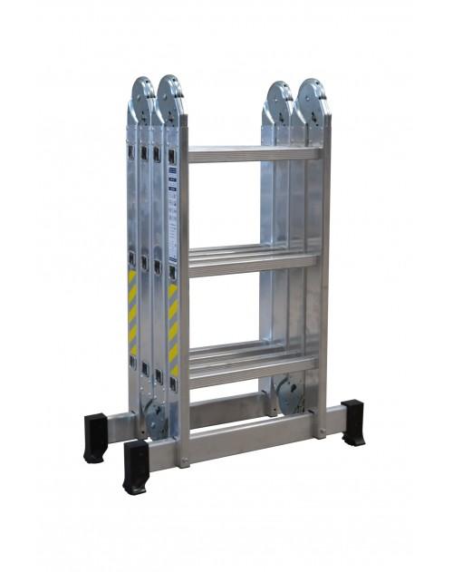 Escalera Aluminio Multiusos 4X3 Rolser